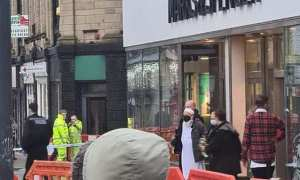Breaking News: A girl has been stabbed in the neck at M&S in Burnley - Video