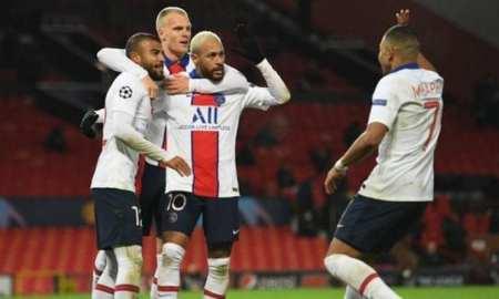 PSG V Man United - Fred redcard as united suffer at the hands of inexperience from Solskjaer