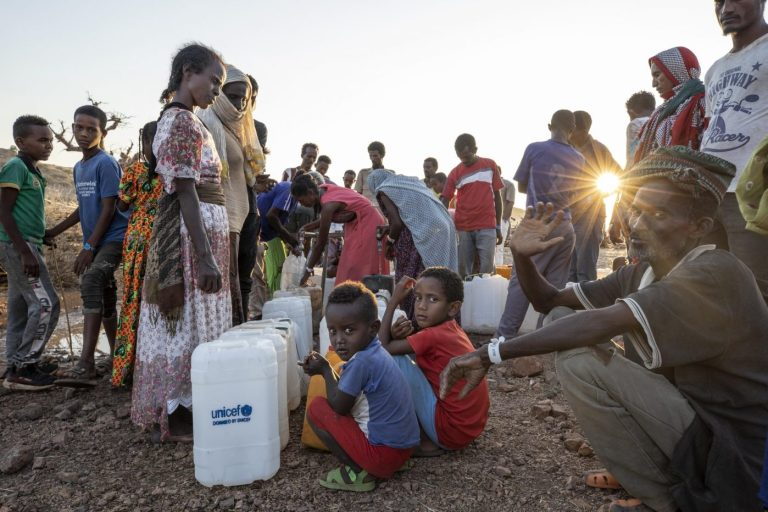 UN says food has run out for nearly 100,000 refugees in Ethiopia