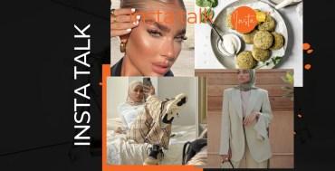 Insta Talk e16: Rana Ellithy - Blazers - Big Eyebrows & Baked falafels
