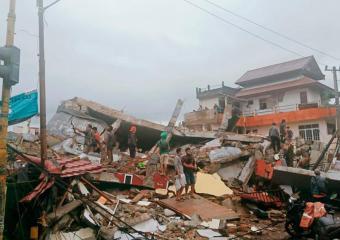 Massive earthquake in Indonesia kills at least 34, leaves hundreds injured