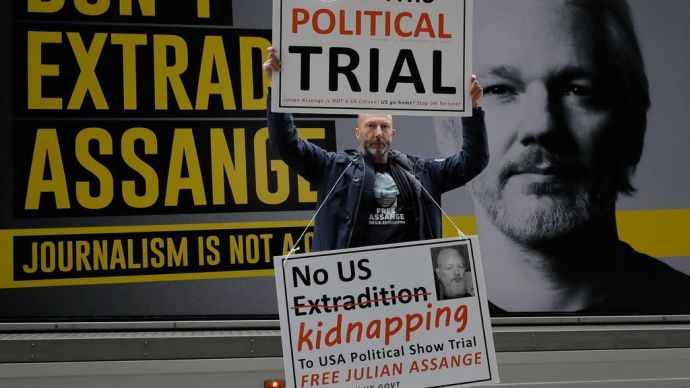 UK refuses US request to extradite Assange