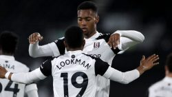 Fulham celebrate their goal in Saturday's Premier League Results