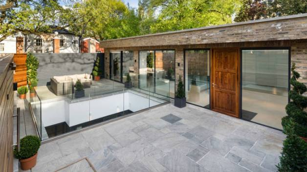 Langtry House near Hampstead Heath in London