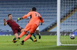 Wolves' Leander Dendoncker's own goal against Manchester City in Tuesday's Premier League fixture