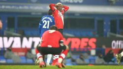 Moussa Djenepo missed a great chance in the Premier League fixture between Everton and Southampton