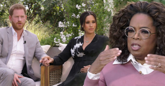 LIVE: The Interview: Harry and Meghan with Oprah