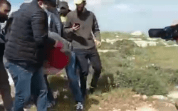 Protester-shot-dead-in-a-clash-between-soldiers-and-Palestinians-demonstrating-against-illegal-settlements