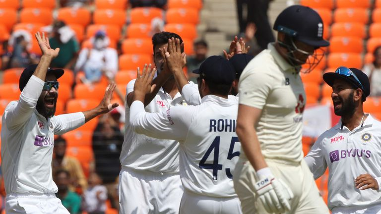 England's batting was terrible against India