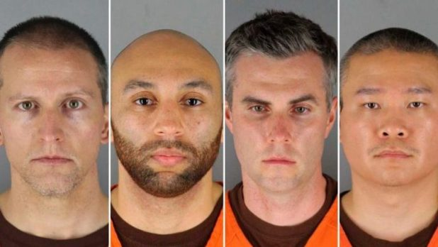 Officers arrested and charged in George Floyd's death