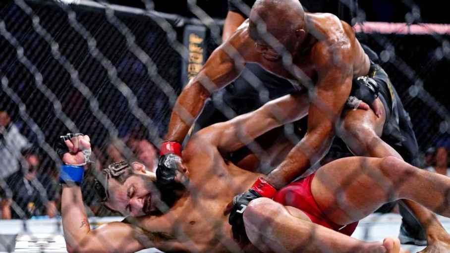 Kamaru v Usman at UFC 261 Brutal knockout by Usman