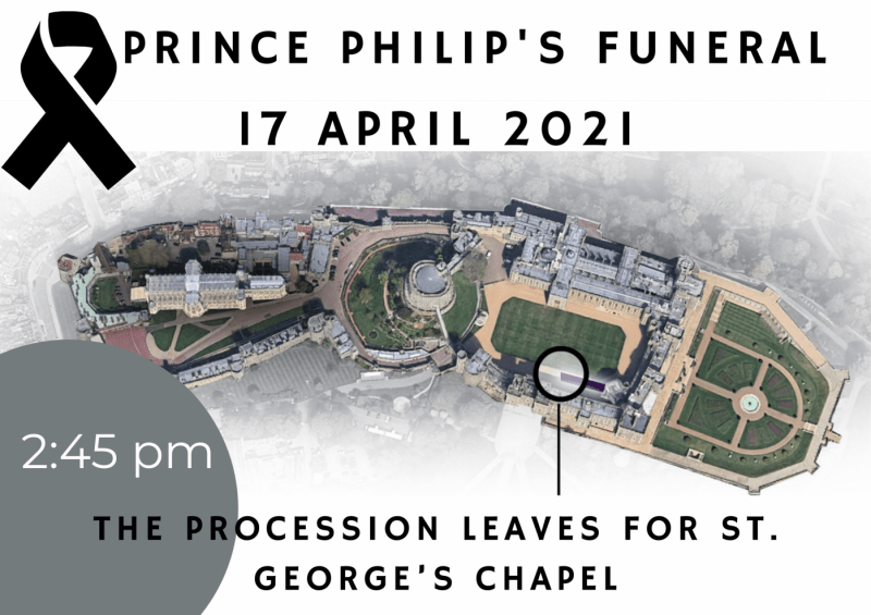April 17 : Prince Philip funeral guide