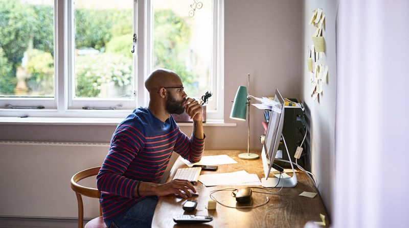 97% workers prefer working at home