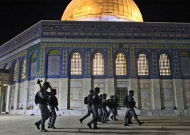 Violence Renews at al-Aqsa mosque as Israel marks Jerusalem Day