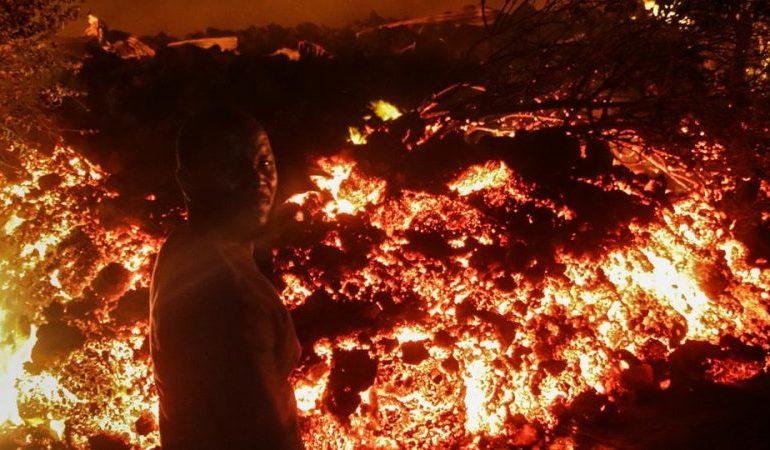25,000 people displaced after volcano eruption