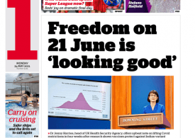 i news - June 21 lockdown lifting 'looking good' - Britain on track