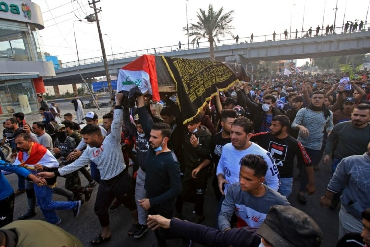 US 'outraged', condemns violent crackdown on Iraqi protesters