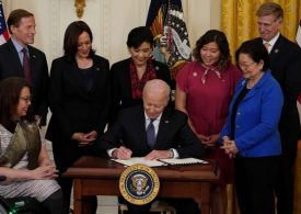 President Biden signs US anti-Asian hate crime law