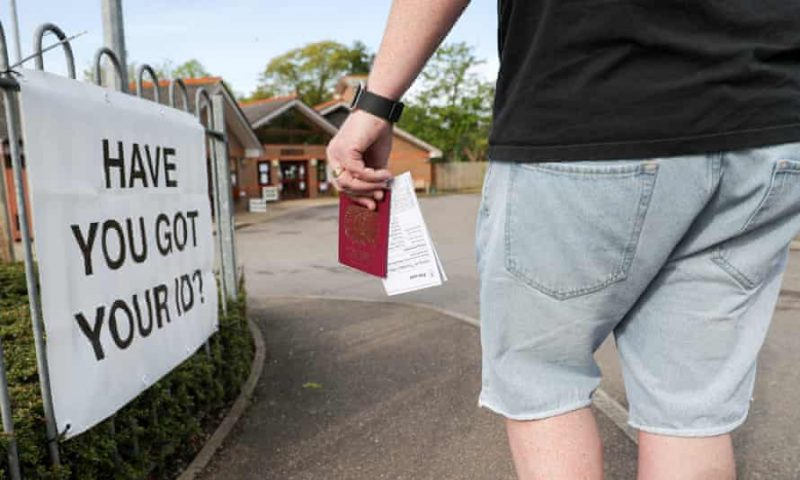 UK will need photo ID to vote - 'unfair and deliberate'