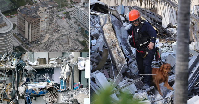 At least 99 people missing after Miami Beach building collapse