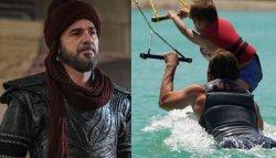 'Ertugrul' star Engin Altan Duzyatan's latest photo with son Emir wins the internet