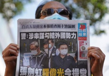 Apple Daily could shut 'in days' after Hong Kong asset freeze