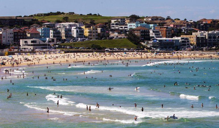 Buck naked: nude sunbathers fleeing deer fined for breaking Sydney lockdown
