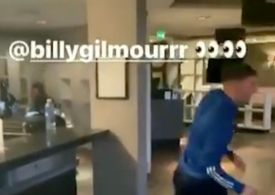 Andy Robertson deletes Billy Gilmour Instagram story after positive Covid-19 result