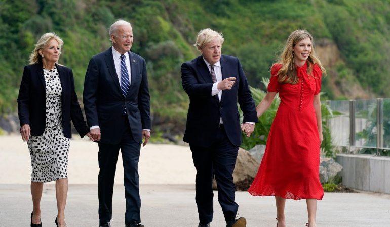 Boris Johnson calls Joe Biden 'breath of fresh air'