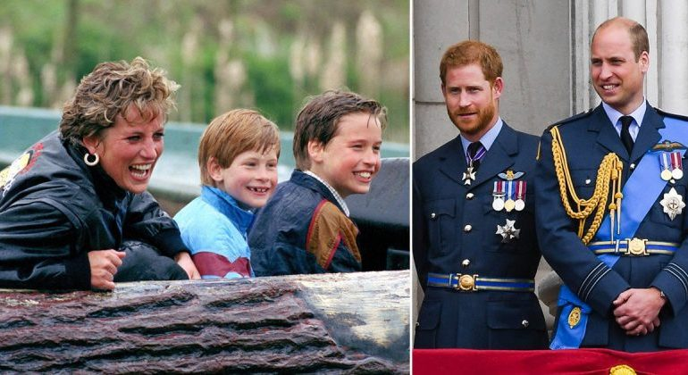 Diana made Harry and William 'promise to be best friends'