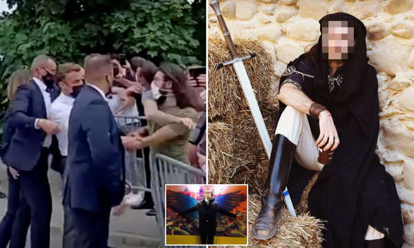 Man who slapped Emanuel Macron is a 28-year-old 'medieval role-playing' fan