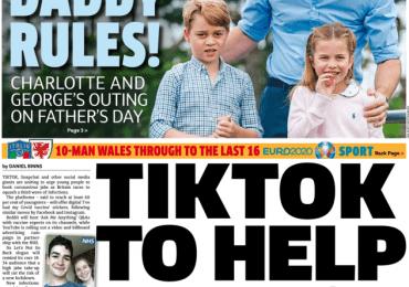 The Metro - TikTok to help unlock as over-18s get jabbed