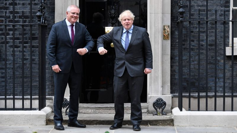 UK and Australia announce new trade deal