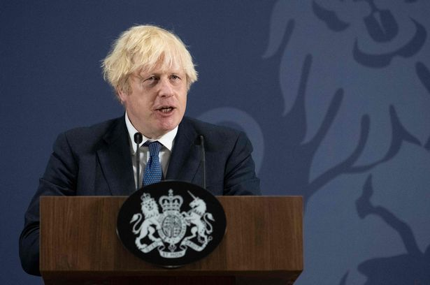 Boris Johnson reveals five point plan for 'living with Covid' as masks and social distancing to end
