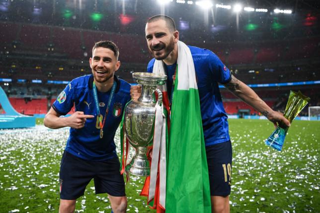 After Italy's Euro 2020 victory, Jorginho joins Leonardo Bonucci in mocking England.