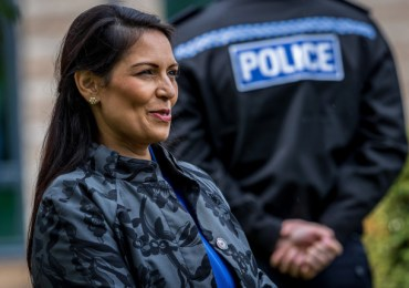 Police Federation of England and Wales no longer has confidence in Priti Patel, calling pay freeze