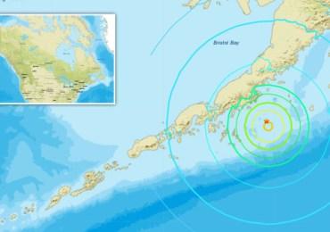 Major Earthquake Rocked Alaska Peninsula, With Fears Tsunami Could Soon Follow.