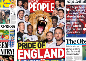 Sunday Papers: Euro 2020 England vs Italy - 'The Pride of England'