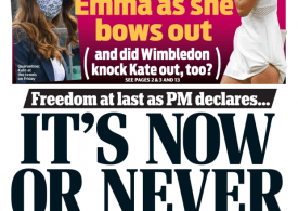 Daily Mail - It's Now or Never
