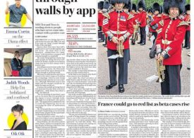 Telegraph - Neighbours pinged through walls by app