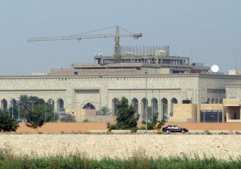 Two rockets fired near US embassy in Iraq's Baghdad: Security source