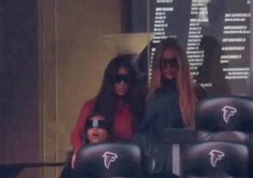 Kim Kardashian Makes Surprise Appearance at Kanye West's Album Listening Event
