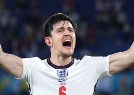 Harry Maguire's dad suffering suspected broken ribs in Wembley 'stampede'