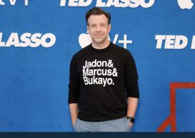 Jason Sudeikis offers his support to England stars