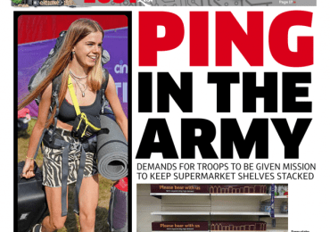 The Metro - 'Ping in the Army'