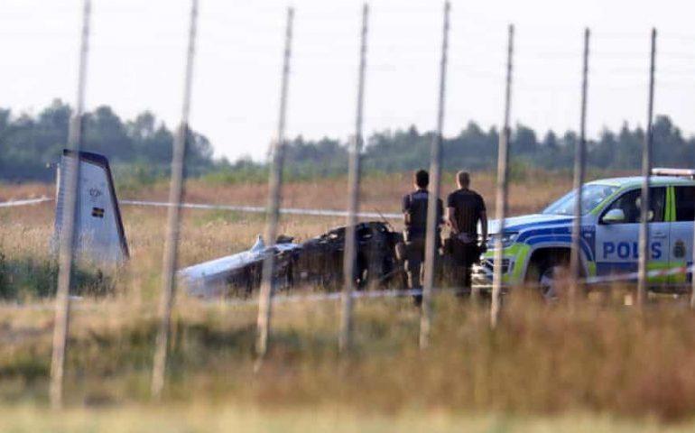 Plane carrying skydivers crashes in Sweden, killing nine
