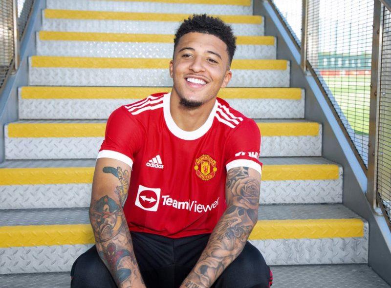 Manchester United sign Jadon Sancho from Dortmund for £73m