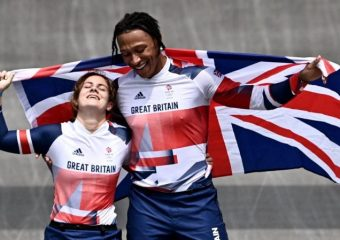 Bethany Shriever and Kye Whyte take Gold and Silver in the BMX finals