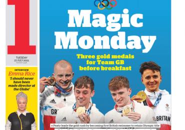 The i - Olympic 2020 'Magic Monday'