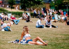 Met Office issues first amber warning for heat as UK bakes in sun